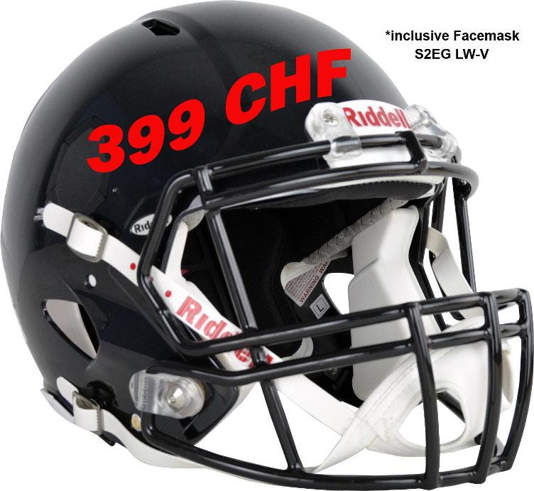 Special offer Riddell Speed Helmet + Facemask